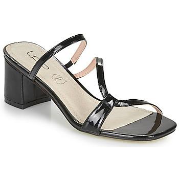 Schuhe Damen Pantoffel Les Petites Bombes BERTHINE Schwarz