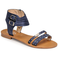 Schuhe Damen Sandalen / Sandaletten Les Petites Bombes BELIZE Blau