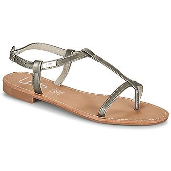 Schuhe Damen Sandalen / Sandaletten Les Petites Bombes BULLE Grau