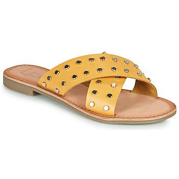 Schuhe Damen Pantoffel Les Petites Bombes BELMA Gelb