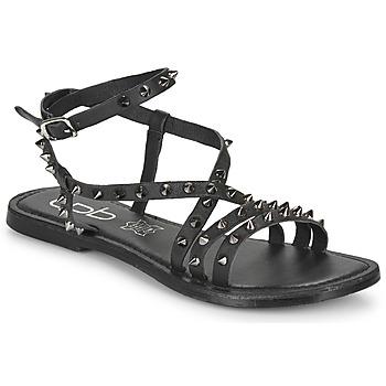 Schuhe Damen Sandalen / Sandaletten Les Petites Bombes BEATA Schwarz