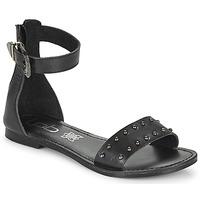 Schuhe Damen Sandalen / Sandaletten Les Petites Bombes BRANKA Schwarz
