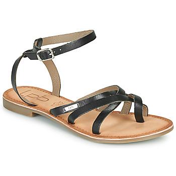 Schuhe Damen Sandalen / Sandaletten Les Petites Bombes BERYLE Schwarz