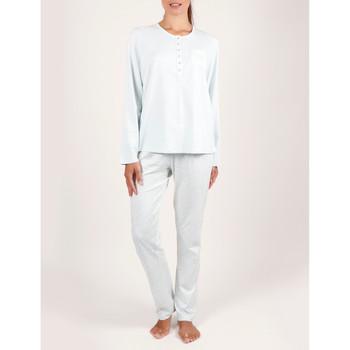 Kleidung Damen Pyjamas/ Nachthemden Admas Pyjama-Oberteile und Hosen für die Innenbekleidung Tapeta Blau Turquoise