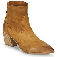 Schuhe Damen Low Boots Moma OSTUNI Braun