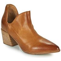 Schuhe Damen Ankle Boots Moma OSTUMI Braun