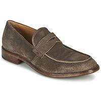Schuhe Herren Slipper Moma NOTTINGHAM Braun
