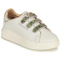 Schuhe Damen Sneaker Low Serafini CONNORS Weiss / Gold / Grün