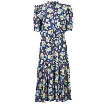 Kleidung Damen Maxikleider Lauren Ralph Lauren BAYZEE Multicolor