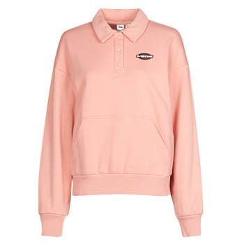 Kleidung Damen Sweatshirts Vans WM DOME GROWN POLO F Rose / Dawn