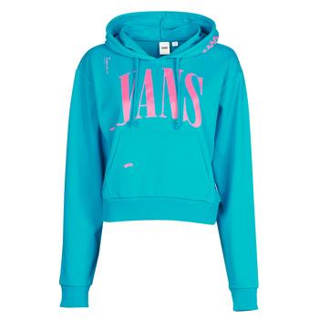 Kleidung Damen Sweatshirts Vans WM KAYE CROP HOODIE Blau