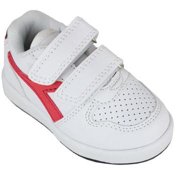 Schuhe Kinder Sneaker Low Diadora playground td c0673 Rot