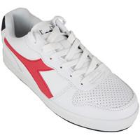 Schuhe Kinder Sneaker Low Diadora playground gs c0673 Rot
