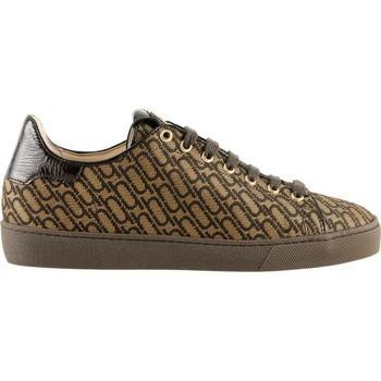 Schuhe Damen Sneaker Low Högl Gushy Camel Drakbrown Braun