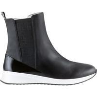 Schuhe Damen Low Boots Högl Trockenbahn Schwarz Schwarz