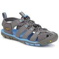 Schuhe Damen Sportliche Sandalen Keen CLEARWATER CNX W Grau / Blau