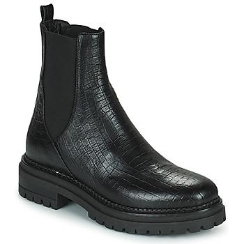 Schuhe Damen Boots Minelli LAMINA Schwarz