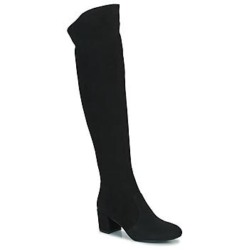 Schuhe Damen Klassische Stiefel Minelli MILANIA Schwarz
