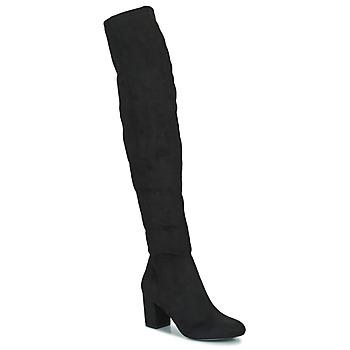 Schuhe Damen Klassische Stiefel Minelli HALINA Schwarz
