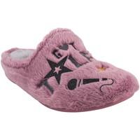 Schuhe Mädchen Hausschuhe Garzon Geh nach Hause Mädchen  n4526.275 lila Rose