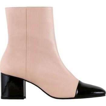 Schuhe Damen Low Boots Högl Jane Nude Schwarz Beige