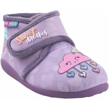 Schuhe Mädchen Babyschuhe Garzon Geh nach Hause Mädchen  n4053.246 lila Grau