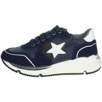 Schuhe Kinder Sneaker Low Asso AG-8704 Blau