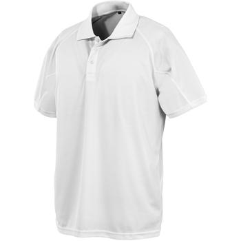 Kleidung Polohemden Spiro SR288 Weiß