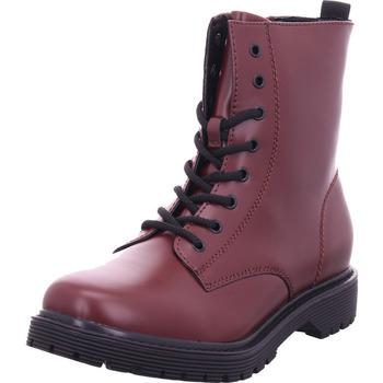 Schuhe Damen Stiefel Idana Damen Stiefelette DK. RED 558