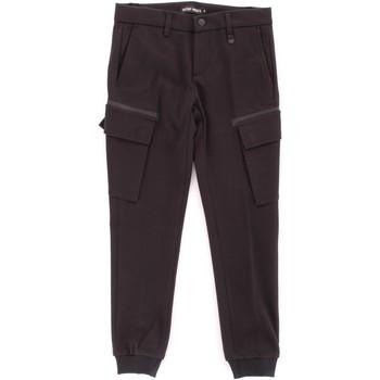 Kleidung Jungen Cargo Hosen Antony Morato MKTR00162-800130 Schwarz