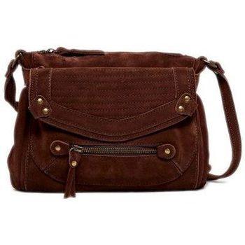 Taschen Damen Umhängetaschen Abaco Paris GIULIA marron