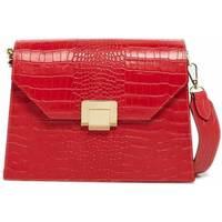 Taschen Damen Umhängetaschen Abaco Studio AMA CROCO rouge