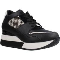 Schuhe Damen Sneaker Low Apepazza PONY HILARY Schwarz