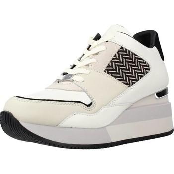Schuhe Damen Sneaker Low Apepazza PONY HILARY Weiß