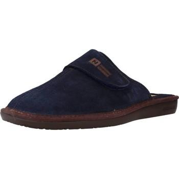 Schuhe Herren Hausschuhe Nordikas 375 Blau