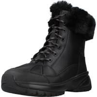 Schuhe Damen Stiefel UGG Yose Fluff Schwarz