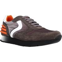 Schuhe Jungen Sneaker Low Voile Blanche LIAM POWER LACCIO Brown