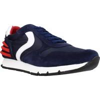 Schuhe Jungen Sneaker Low Voile Blanche LIAM POWER LACCIO Blau