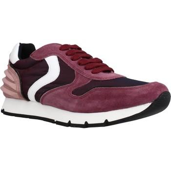 Schuhe Mädchen Sneaker Low Voile Blanche LIAM POWER LACCIO Rot