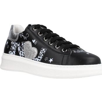 Schuhe Mädchen Sneaker Low Naturino TALTH Schwarz