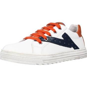 Schuhe Jungen Sneaker Low Naturino SNIP Weiß