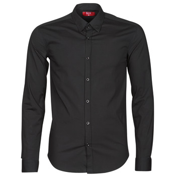 Kleidung Herren Langärmelige Hemden BOTD OMAN Schwarz