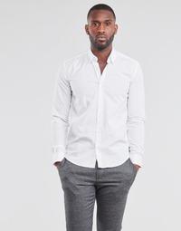 Kleidung Herren Langärmelige Hemden BOTD OMAN Weiss