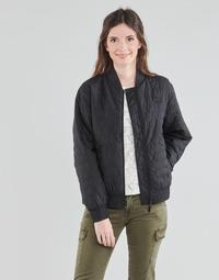 Kleidung Damen Jacken Puma W BOMBER Schwarz