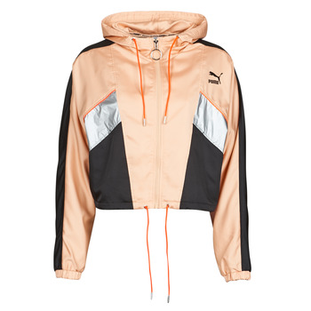 Kleidung Damen Trainingsjacken Puma FASHION LUX JACKET Rose / Schwarz