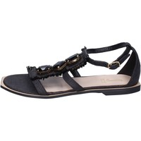 Schuhe Damen Sandalen / Sandaletten Jeannot BK788 Schwarz