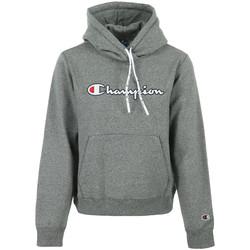 Kleidung Damen Sweatshirts Champion Hooded Sweatshirt Wn's Grau