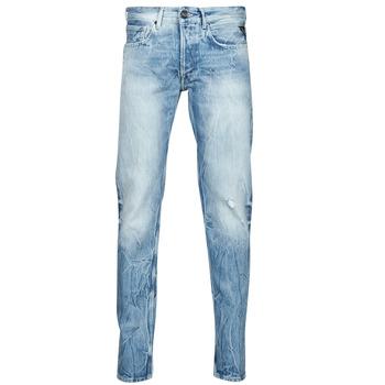Kleidung Herren Straight Leg Jeans Replay WIKKBI Super / Blau
