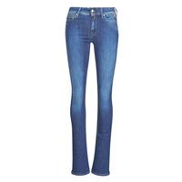 Kleidung Damen Bootcut Jeans Replay LUZ Super / Blau