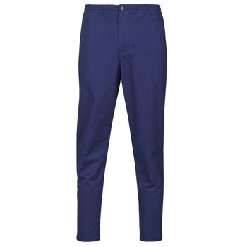 Kleidung Herren 5-Pocket-Hosen Polo Ralph Lauren PANTALON CHINO PREPSTER AJUSTABLE ELASTIQUE AVEC CORDON INTERIEU Marine